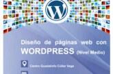 """Curso de """"Diseño de Páginas Web con WordPress"""" nivel medio"""