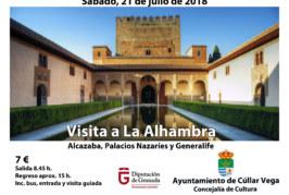 Visita a La Alhambra y Generalife