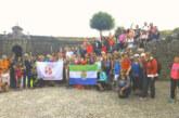 Un centenar de vecinos de Cúllar Vega y Armilla realizan el Camino de Santiago