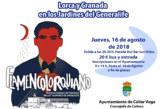 """Espectáculo en el Generalife """"Flamenco Lorquiano, una sucesión de estampas coreográficas, musicales y escénicas"""""""