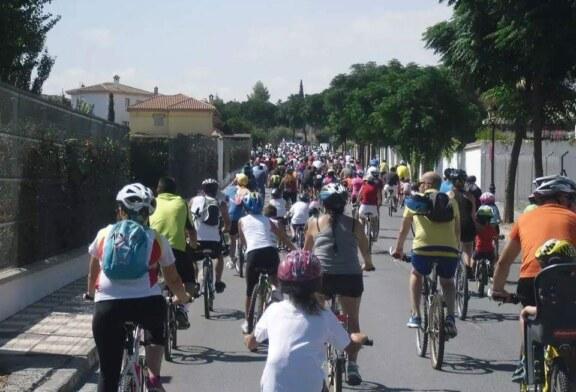 El Día de la Bicicleta de Cúllar Vega recaudará alimentos para los más necesitados
