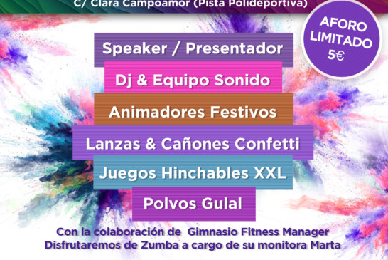 II Holi Party de Cúllar Vega
