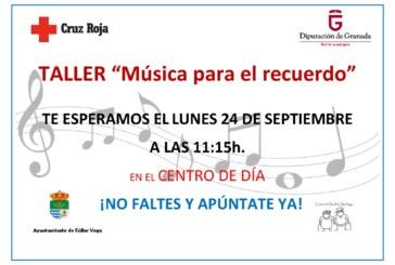 """Taller """"Música para el Recuerdo"""""""