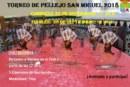 III Torneo de Pellejo Fiestas de San Miguel 2018