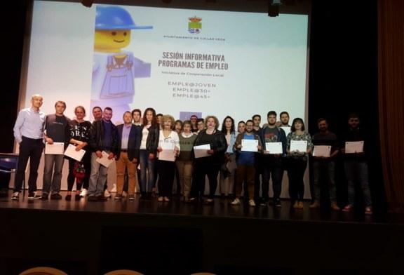 Celebración de la Sesión Informativa de los programas emple@joven, emple@30 y emple@45