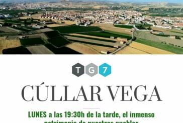 El lunes 1 de octubre se emitirá en TG7 un documental sobre Cúllar Vega