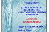 """El Viernes 5 de Octubre: Servicio Jurídico """"Testamentos, Herencias y Sucesiones"""""""