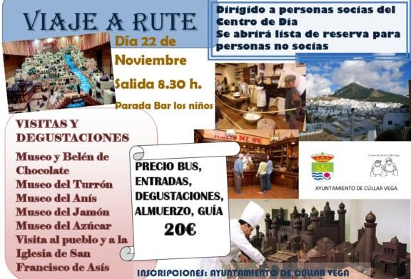 Viaje a Rute para las personas socias del Centro de Día