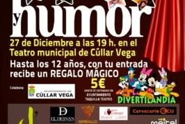 Gran Gala de Magia y Humor para toda la familia