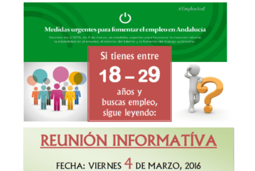 Programa empleo joven Junta de Andalucía