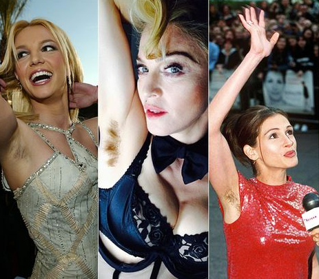 The Societal Implications of Madonna's Armpit Hair