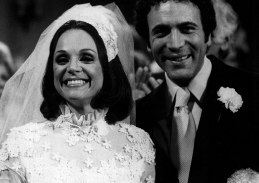 Rhoda married early on in the series