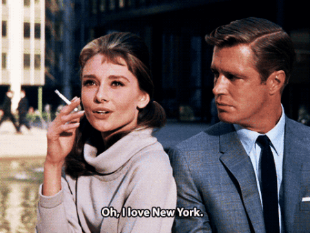 As Holly Golightly in Breakfast at Tiffany's, arguably her most iconic role