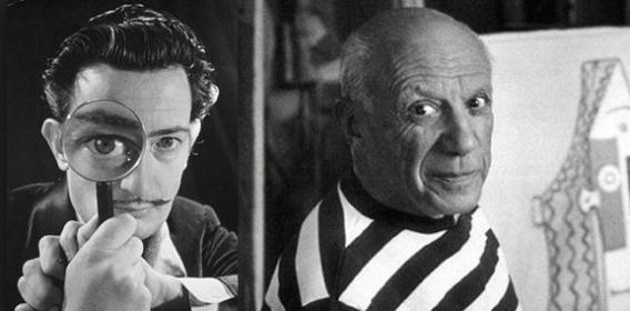 Dalí and Picasso: An art love affair