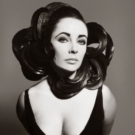 Elizabeth Taylor, photographed by Avedon