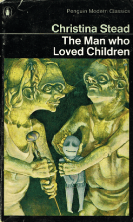 Another horrifying cover for The Man Who Loved Children