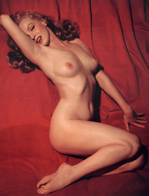 Bettie Page has nothing on Marilyn Monroe's pin-up days