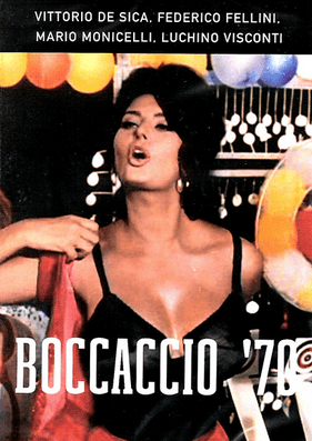 Sophia Loren as Zoe in Boccaccio '70