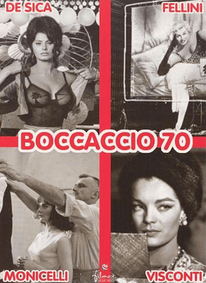 Promotional poster for Boccaccio '70