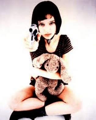 As Mathilda in The Professional