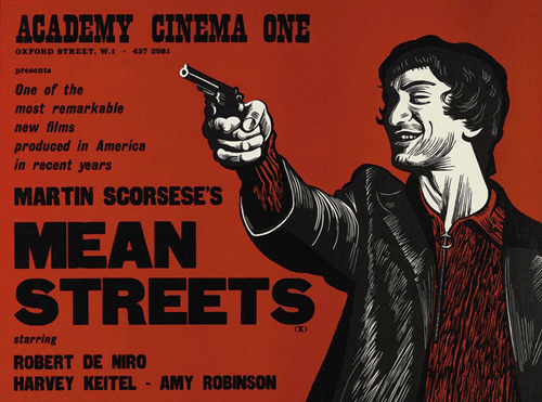 Promotional poster for Mean Streets