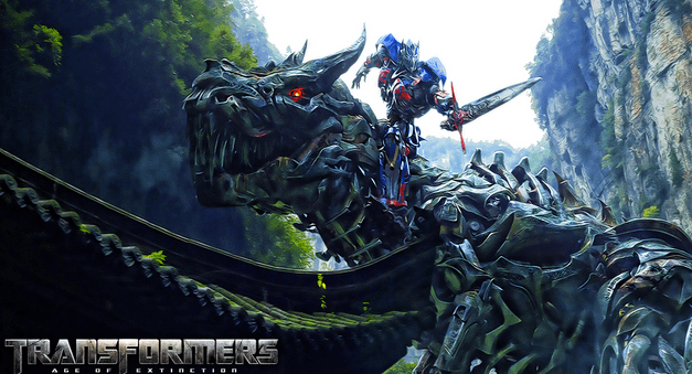 Promotional poster for Transformers 4