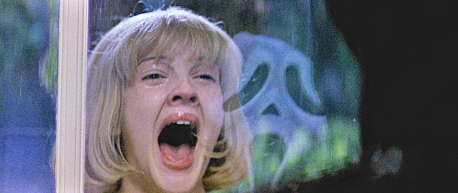 The most memorable scene of Scream takes place at the beginning