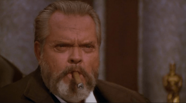 Orson Welles, looking slightly worse for the wear in The Muppet Movie