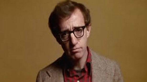 Woody Allen as the jaded, neurotic Alvy Singer in Annie Hall