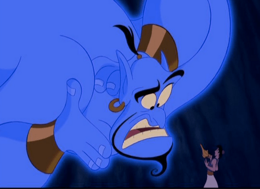 Giving voice to Genie in Aladdin