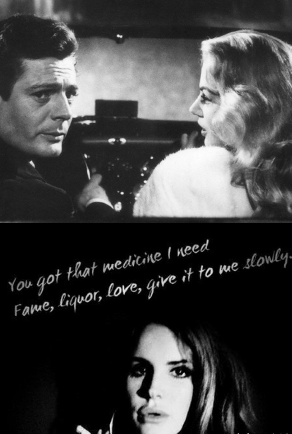 "The lyrics of ""Gods and Monsters"" fit quite nicely with most of the scenes from La Dolce Vita"