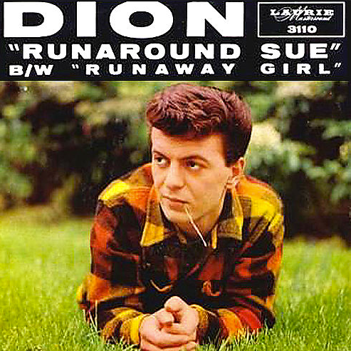 "Single cover for ""Runaround Sue"""
