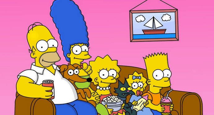 The Simpsons look like they've fallen down a rabbit hole themselves