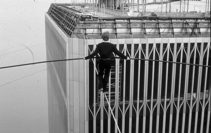 All about a man on a wire