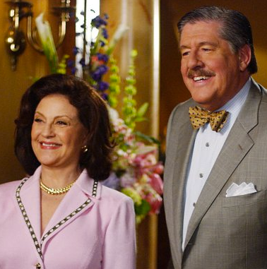 An unstoppable tour de force with his wife, Emily (Kelly Bishop)
