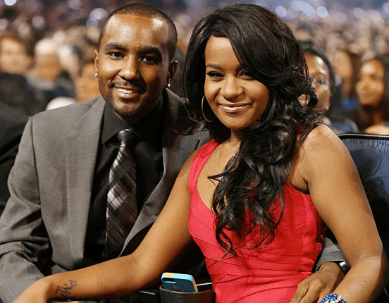With longtime boyfriend Nick Gordon
