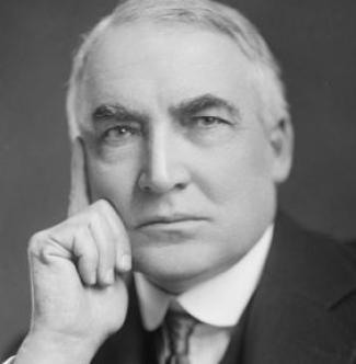 Warren G. Harding: knave