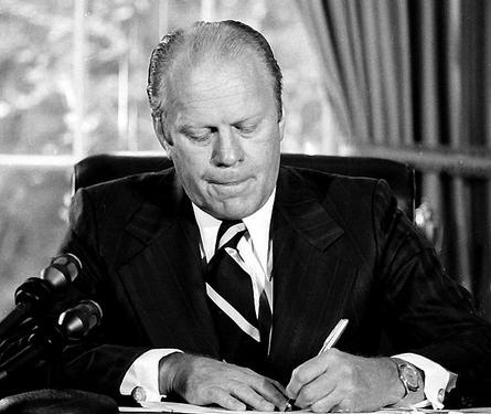 Gerald Ford: filler president