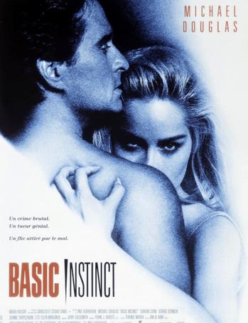 Promotional poster for Basic Instinct