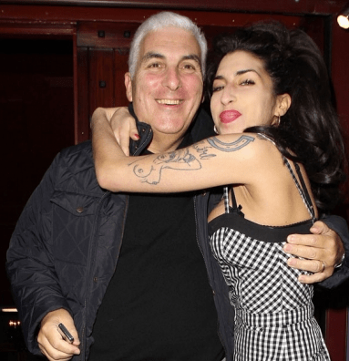 Winehouse was a self-confessed daddy's girl