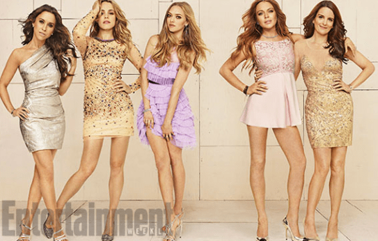 The Entertainment Weekly reunion photoshoot