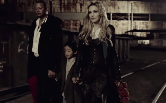 """Terrence Howard in Madonna's """"Ghosttown"""""""