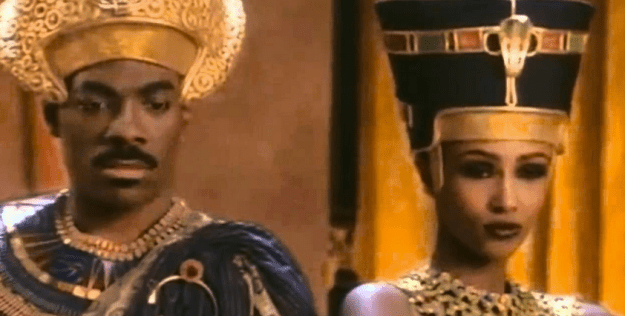 """Eddie Murphy and Iman in """"Remember the Time"""" video"""