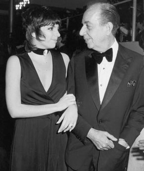 Liza Minnelli and VIncente Minnelli