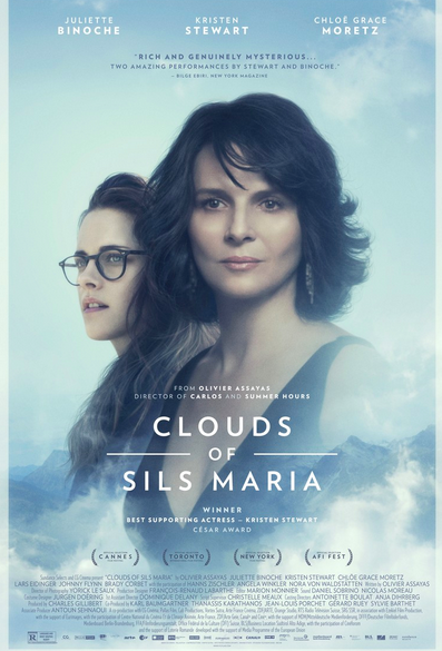 Promo poster for The Clouds of Sils Maria