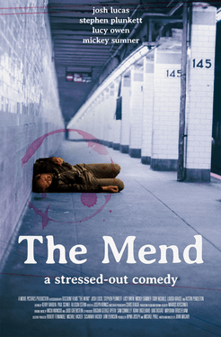 Promo poster for The Mend