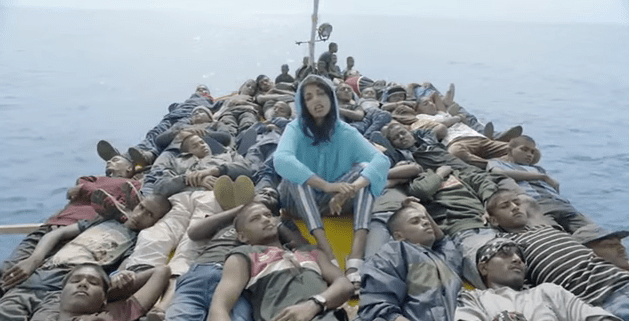 "M.I.A. Infuses Self-Directed ""Borders"" Video With Powerful Meaning"