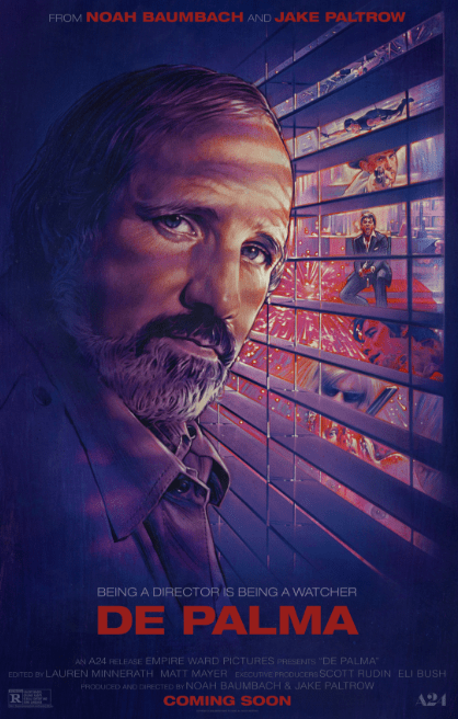 "De Palma: A MasterClass of A Documentary/Also Great For Taking A Shot Every Time He Says ""Holy Mackerel"""