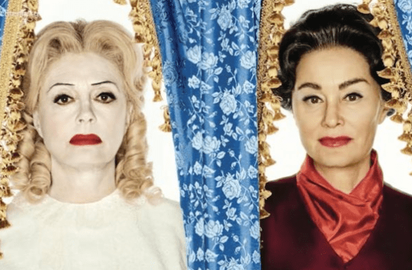At the Crux of Feud Is the Necessary Collaboration of Bette Davis & Joan Crawford to Take Down the Filmic Patriarchy
