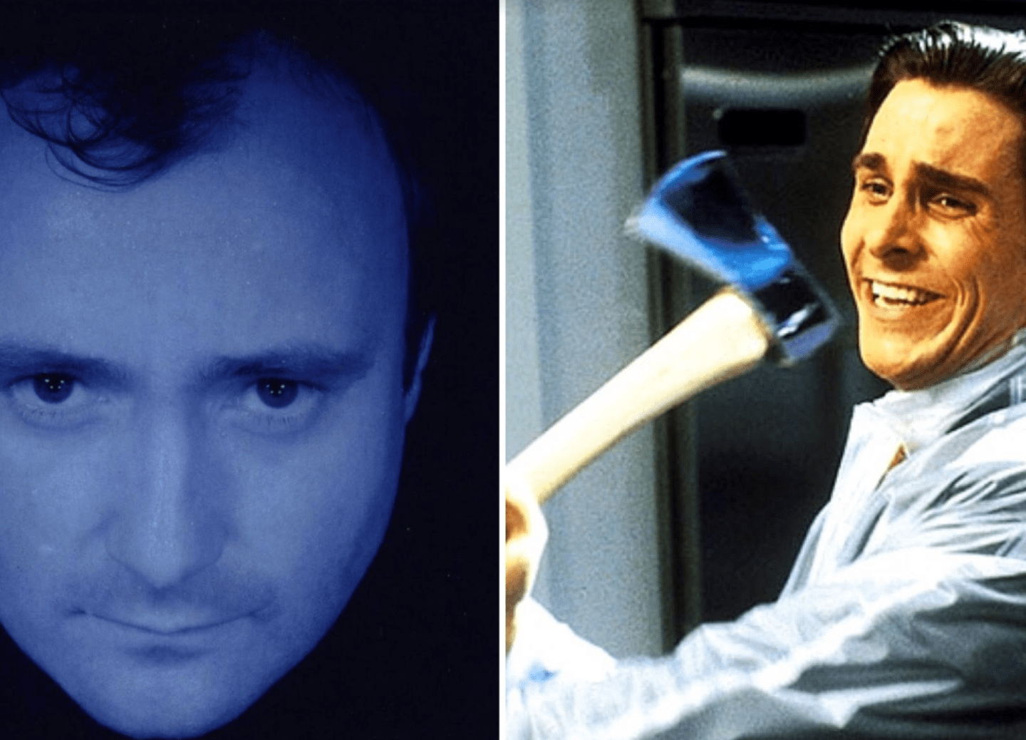Patrick Bateman's Take on the Hospitalization of Phil Collins